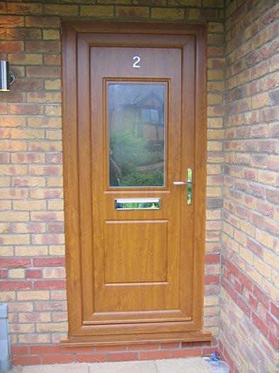 Security doors high and windows